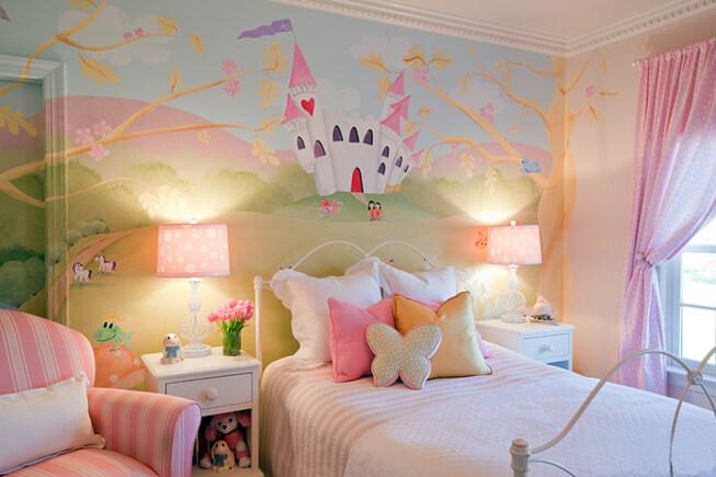 长沙竹文心壁画美文– 儿童房的学问