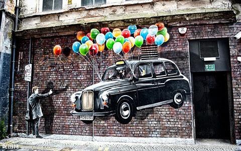 墙体彩绘用什么颜料?