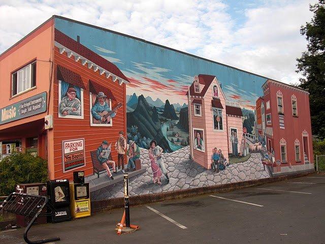 艺术彩绘无处不在---长沙竹文心墙绘壁画公司为艺术而生