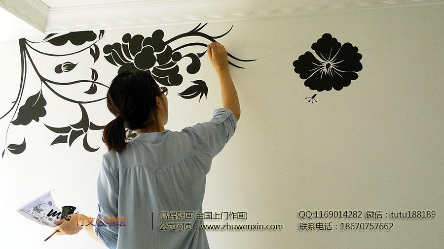 长沙墙绘--黑色藤蔓.jpg